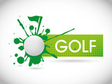 Fototapety golf design