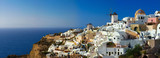 Oia village on Santorini island, Greece.
