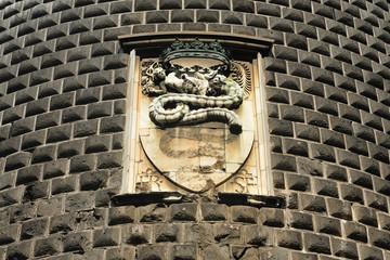 Milano Castello Sforzesco - il Biscione