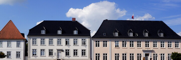 RENDSBURG (Schlewig-Holstein) - Altstadtpanorama