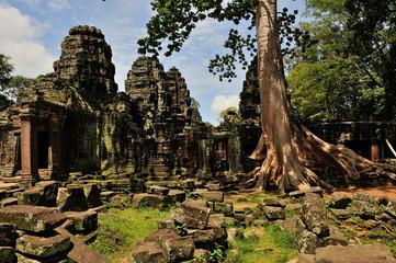 Angkor - Banteay Kdei temple, landscape
