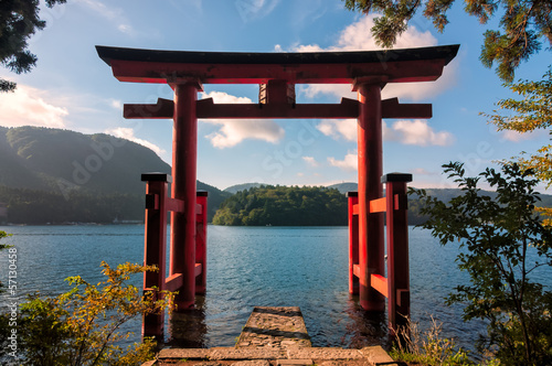 Deurstickers Japan Torii Gate