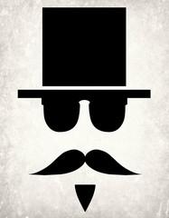 Vintage poster gentleman.