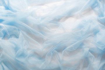 Smooth elegant blue fabric can use as background