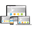 Responsive Design - Computer, Laptop, Tablet, Smartphone