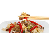 Stir fry chopsticks