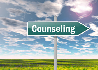 "Signpost ""Counseling"""