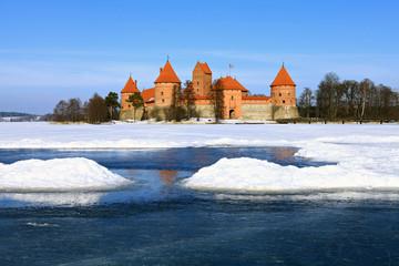Trakai Island Castle.Lithuania.