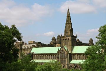 Glasgow Cathedral.Scotland.