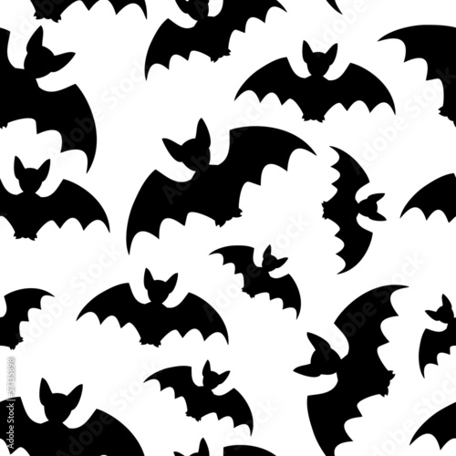Bat - seamless background