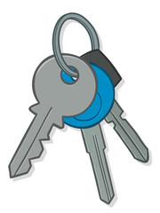 Bunch of house keys