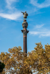 Christopher Columbus Statue, Barcelona Spain