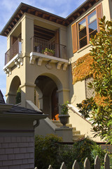 Spanish style home Seattle WA.