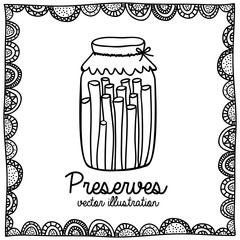 preserves drawing