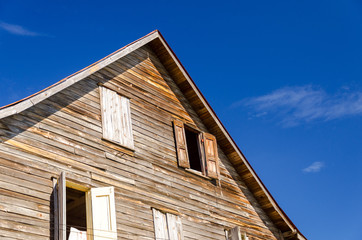 Old Weathered Wooden Building