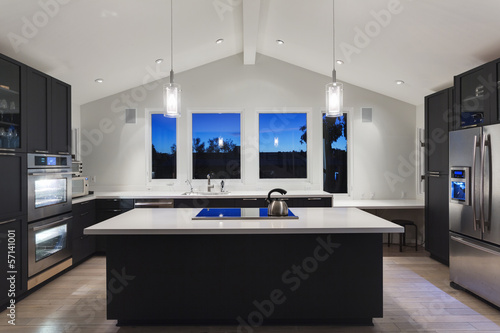 An interior of a rich house kitchen - 57141001