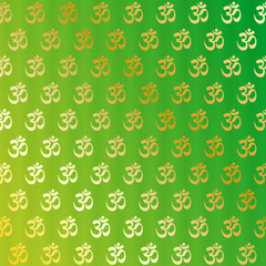 Aum (om) background