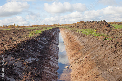 New ditch. - 57143294