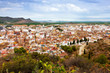 Panoramic view of Sagunto.   Spain