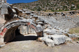 The Ancient Theater in Lmyra, Antalya.