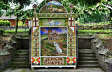 Jenkin Chapel well dressing, Derbyshire