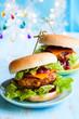 christmas Turkey Burgers