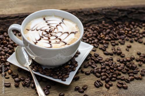 Fototapeten,pause,brotzeit,kaffee,cappuccino