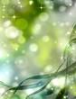 obraz - abstract green bac...