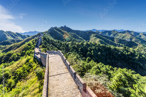 Staande foto Chinese Muur the Great Wall