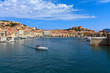 Portoferraio from the sea - Elba island