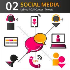 icon social media