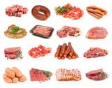 Fototapety A set of meat