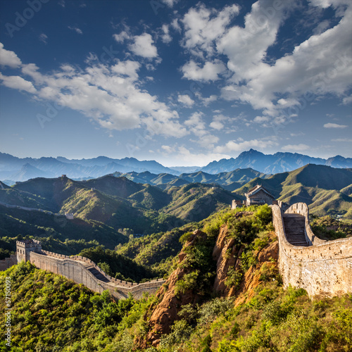 Tuinposter Chinese Muur the Great Wall