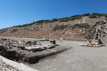 The Stadium of Kibyra in Golhisar, Burdur.