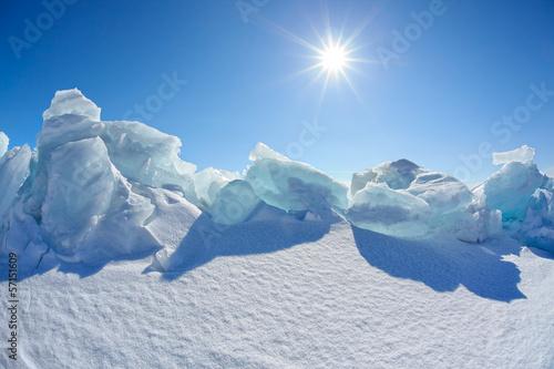 Winter Baikal lake - 57151609