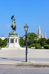Erzherzog Karl Reiterdenkmal - Wien