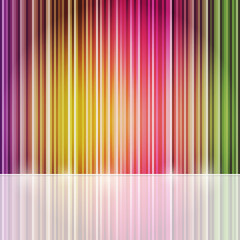 Abstract Stripe Design Composition