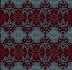 Ottoman motifs, abstract background