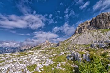 The dolomities mountain