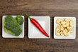 Broccoli, Chili und Cashew-Nüsse