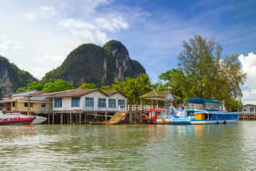 Scenery of Phang Nga National Park in Thailand