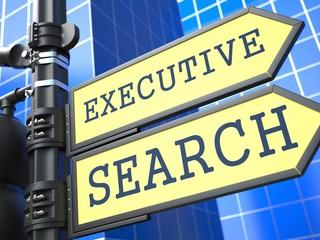 Executive Search. Business Concept.