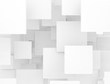 blank 3d squares pattern background