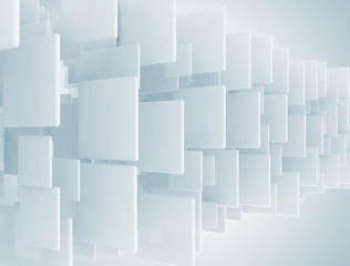 Square blank 3d background