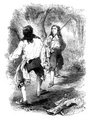 Duel Fight - 18th century