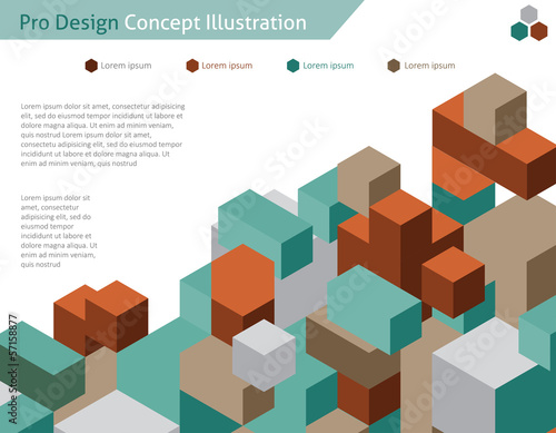 Abstract web design / vector / wallpaper background