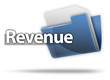 "3D Style Folder Icon ""Revenue"""