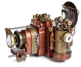 Fototapety camera steampunk