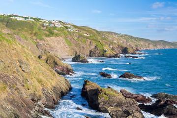 Sharrow Point Cornwall England