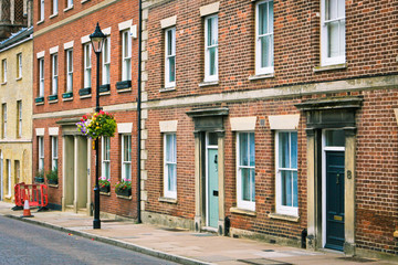 English town houses